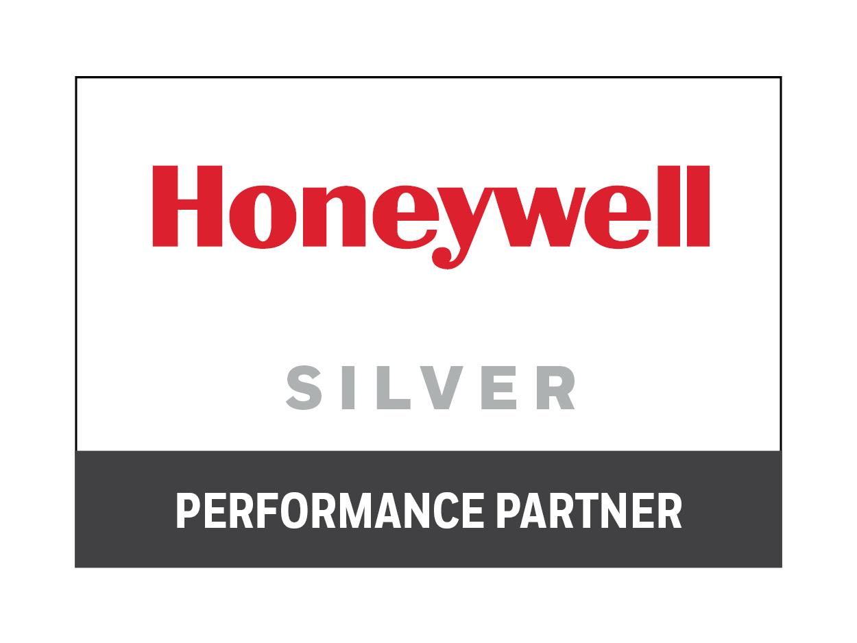 Honeywell Silver Performance Partner Badge