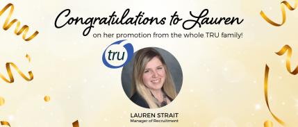 Lauren Strait, Manager of Recruitment