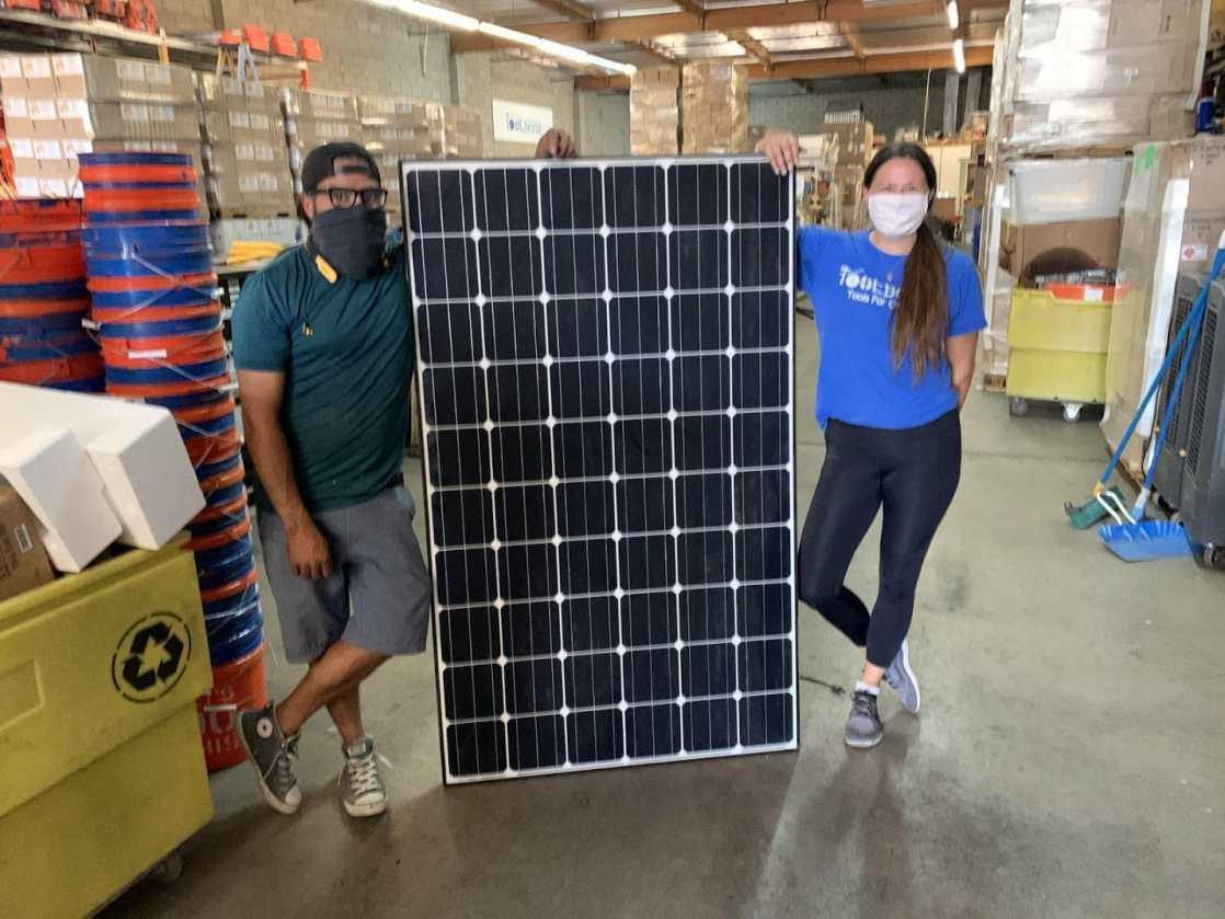 Footprint and SolarPTL