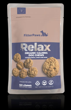 FitterPaws Relax Organic