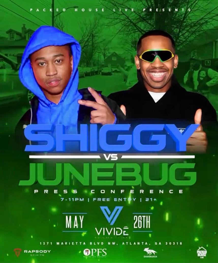 Shiggy vs Junebug Press Conference