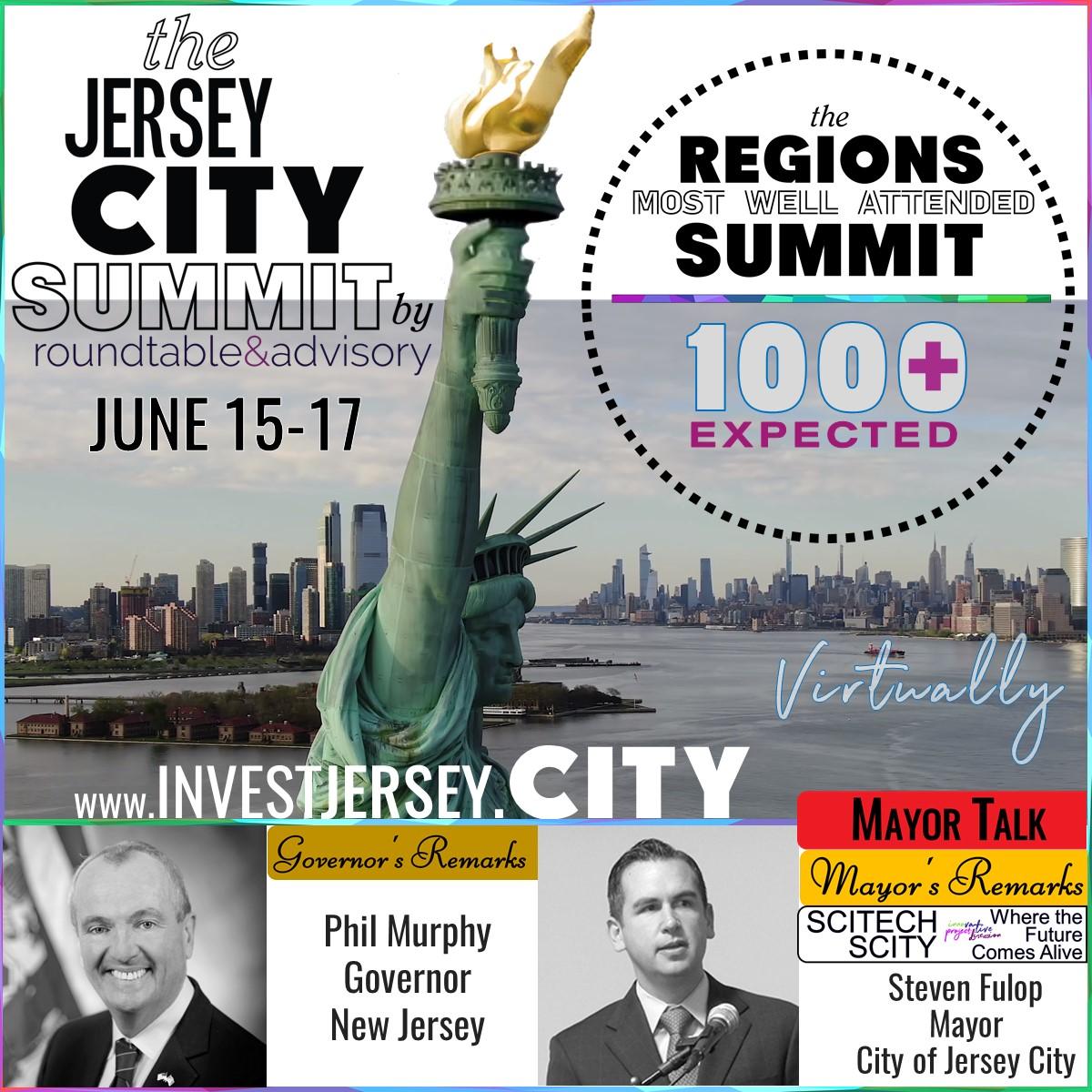 Murphy, Fulop @ 2021, The Jersey City Summit
