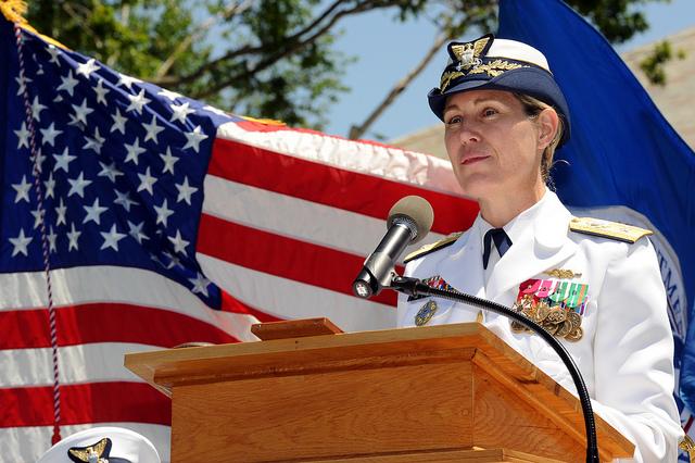 Sandra Stosz at Coast Guard Academy