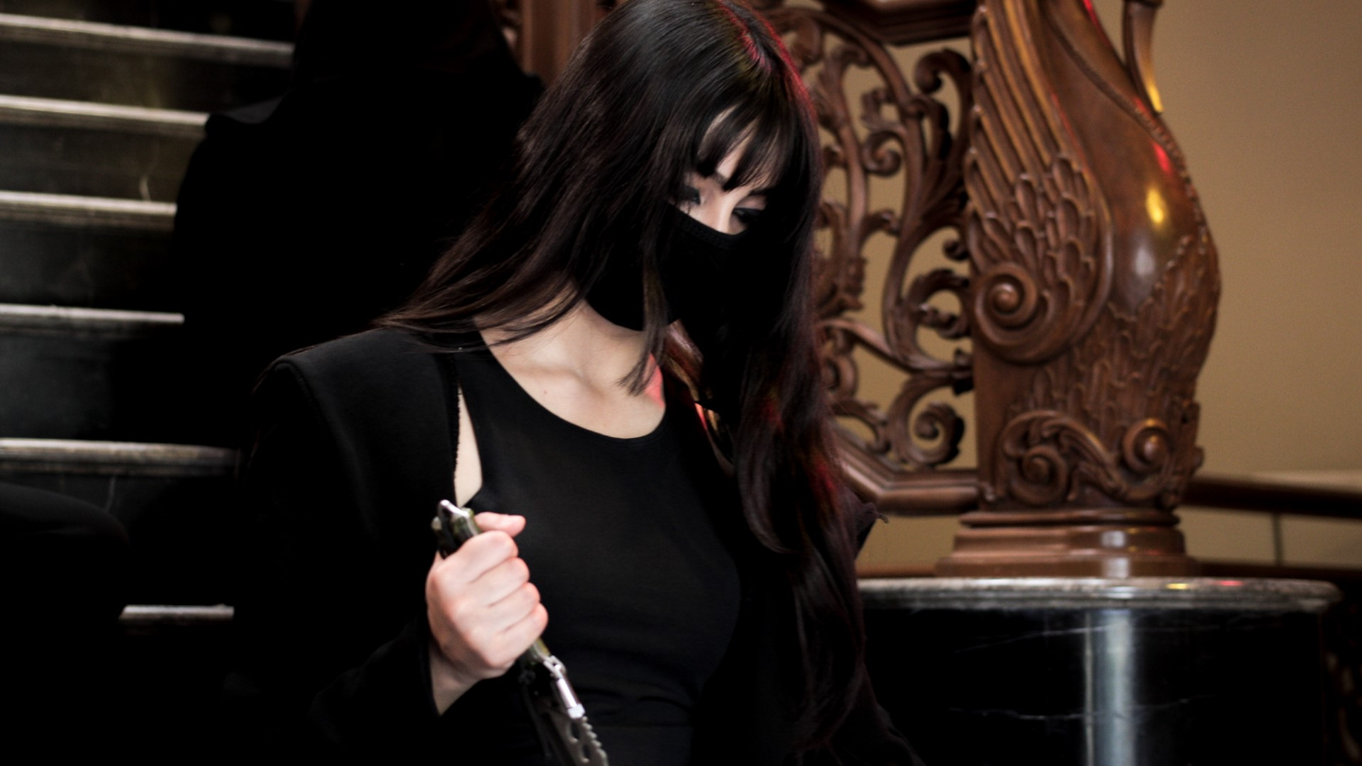 The video revolves around a mysterious entity.
