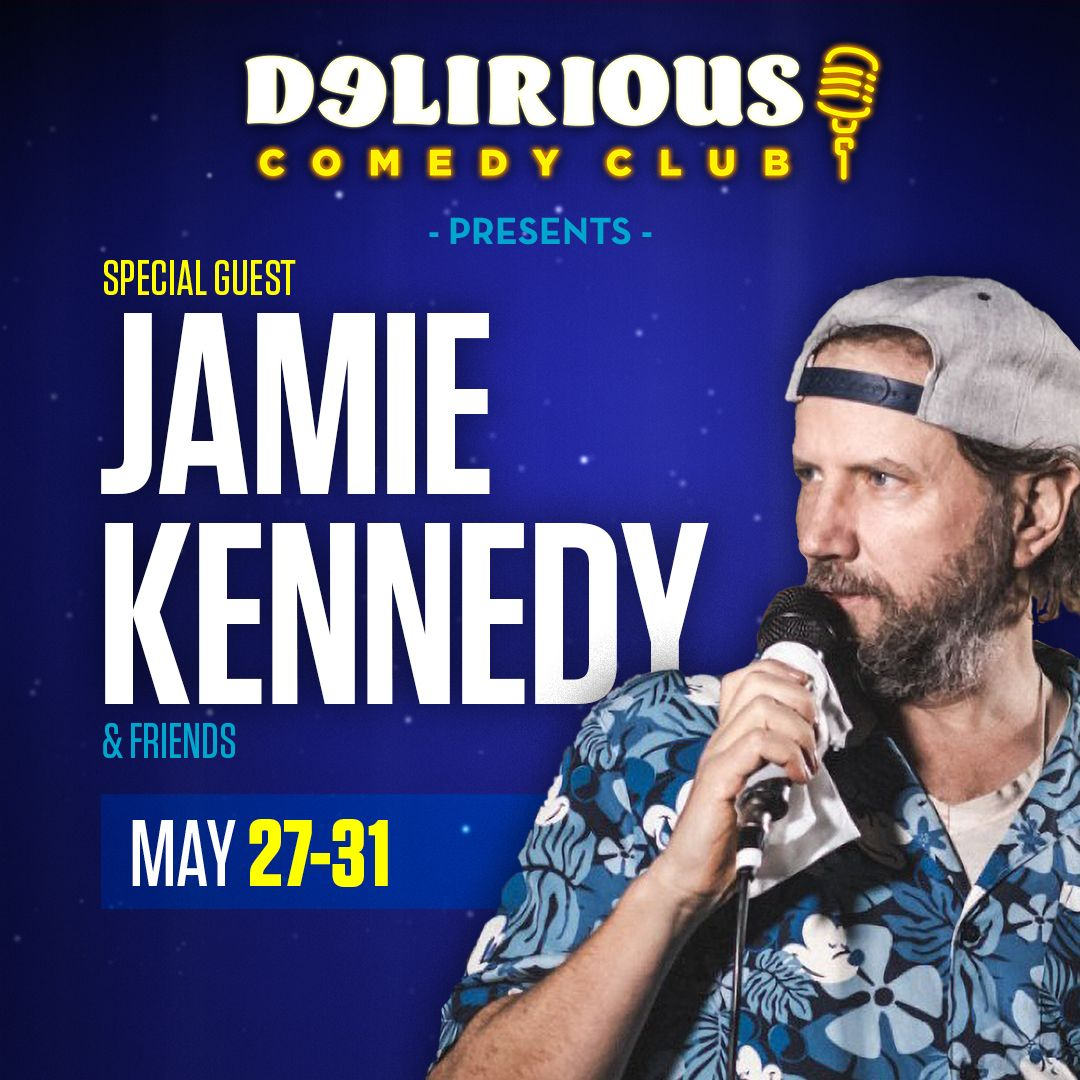 Jamie Kennedy At Delirious Comedy Club