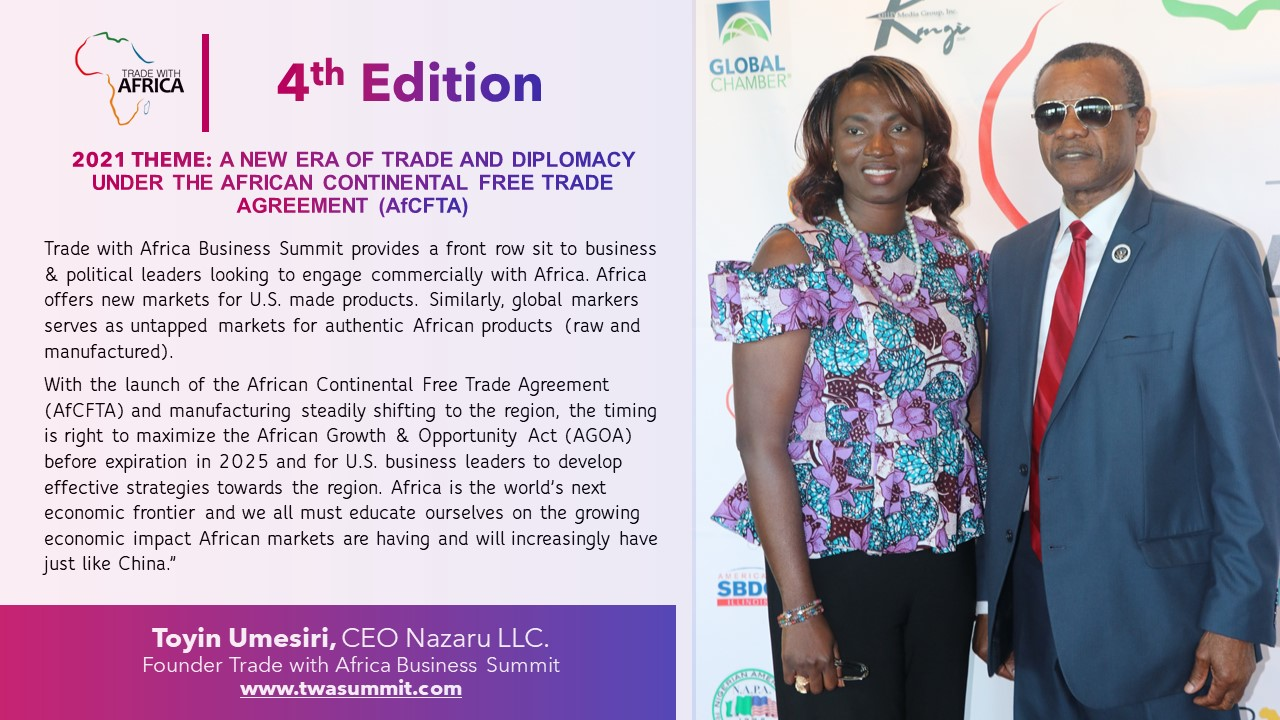 4th Edition Trade With Africa Business Summit