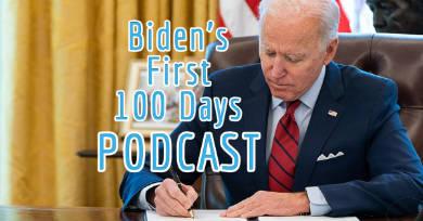 How did Joe Biden fare in his first 100 days?