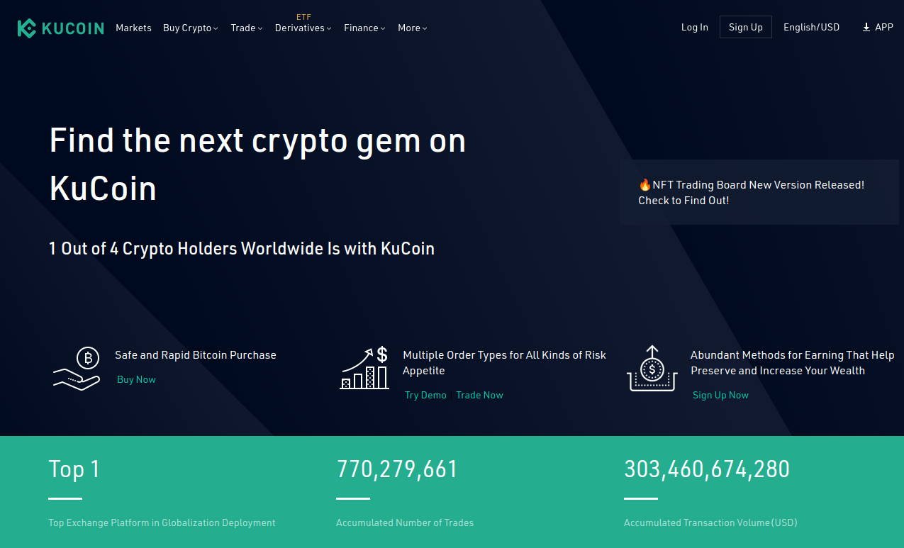 1 in 4 Cryptocurrency Holders Are On KuCoin