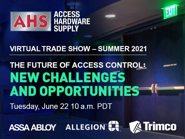 Virtual Trade Show Tuesday, June 22, 2021