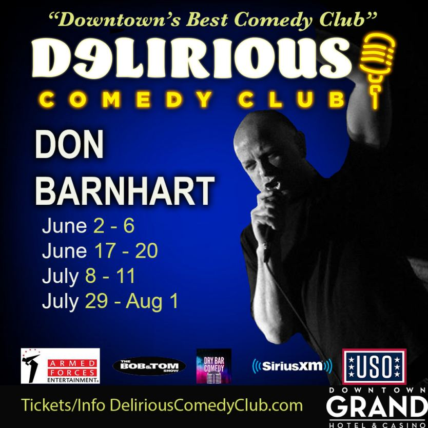 Comedian Don Barnhart Is The Show To See!