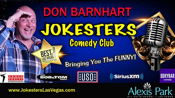 Don Barnhart Headlines Nightly In Las Vegas