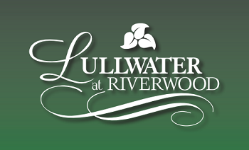 Lullwater Logo On Green Sm