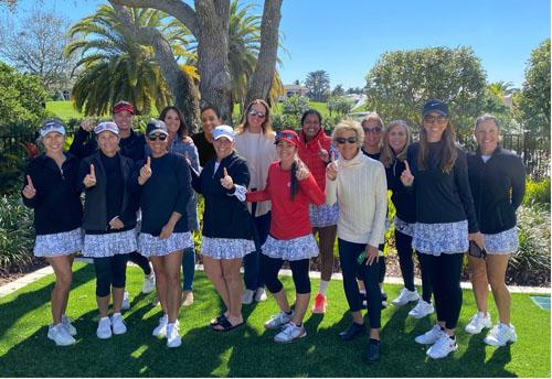 Mizner CC's Women's Tennis Team