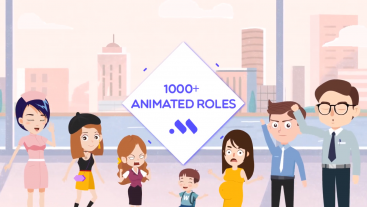 100+ Animated Characters for Video Creation