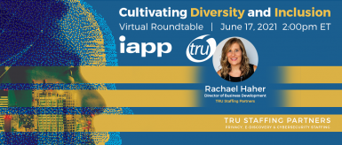 Rachael Haher of TRU to moderate IAPP roundtable