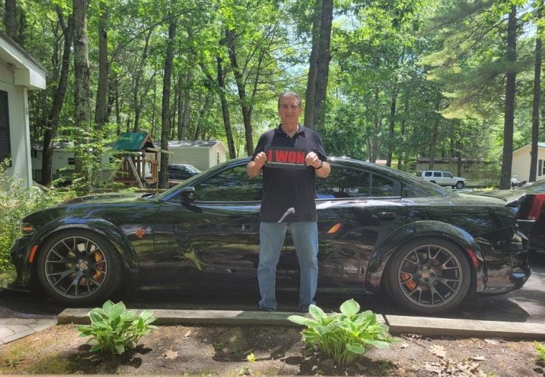 Edwin Spooner won the 2021 Hellcat Dream Giveaway!