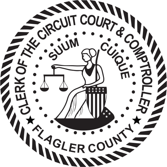 Flagler County Clerk of Courts.