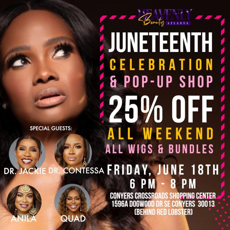 Celebrate with Dr. Heavenly!