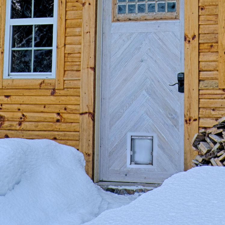 Insulated Pet Door for hot and cold climates