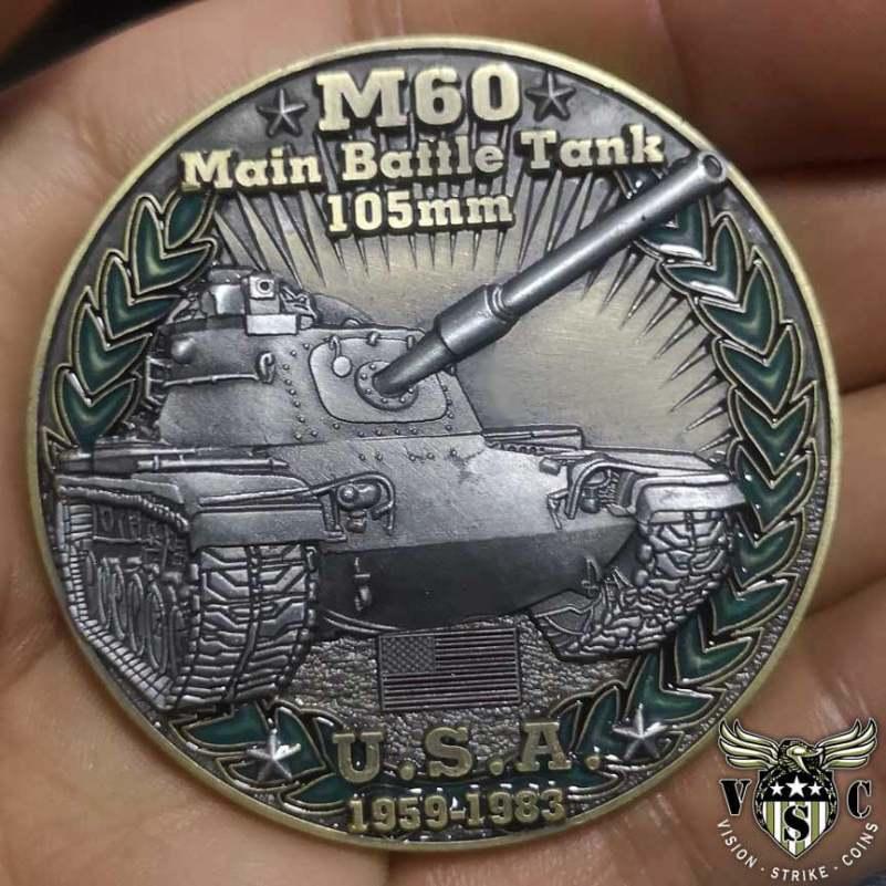 Cold War Combatants Challenge Coins