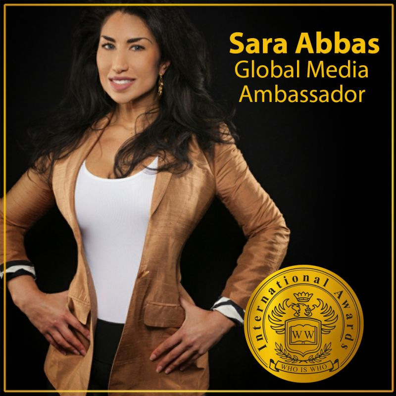 Who Is Who - Global Media Ambassador - Sara Abbas