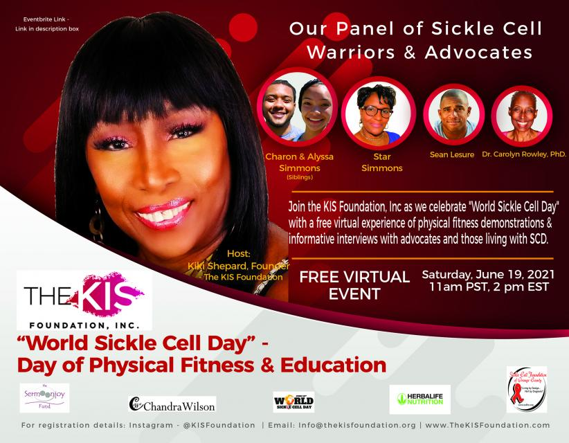 World Sickle Cell Day - The KIS Foundation, Inc.
