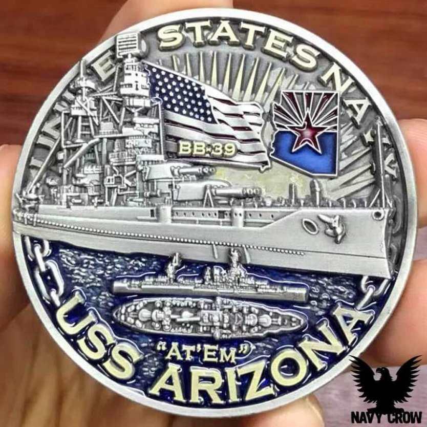 Warships of World War 2 Challenge Coins
