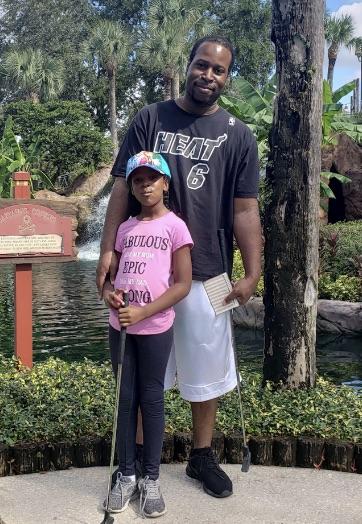 Single Dad Aaron Harrigan and Daughter