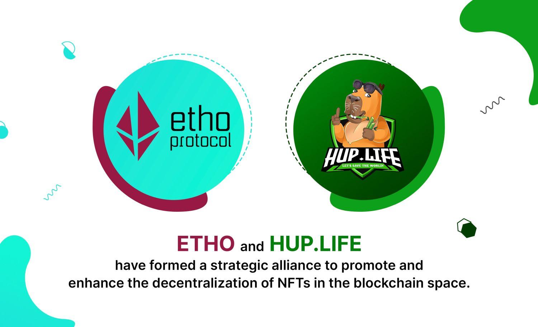 HUP.LIFE & Etho Protocol - NFT Partnership