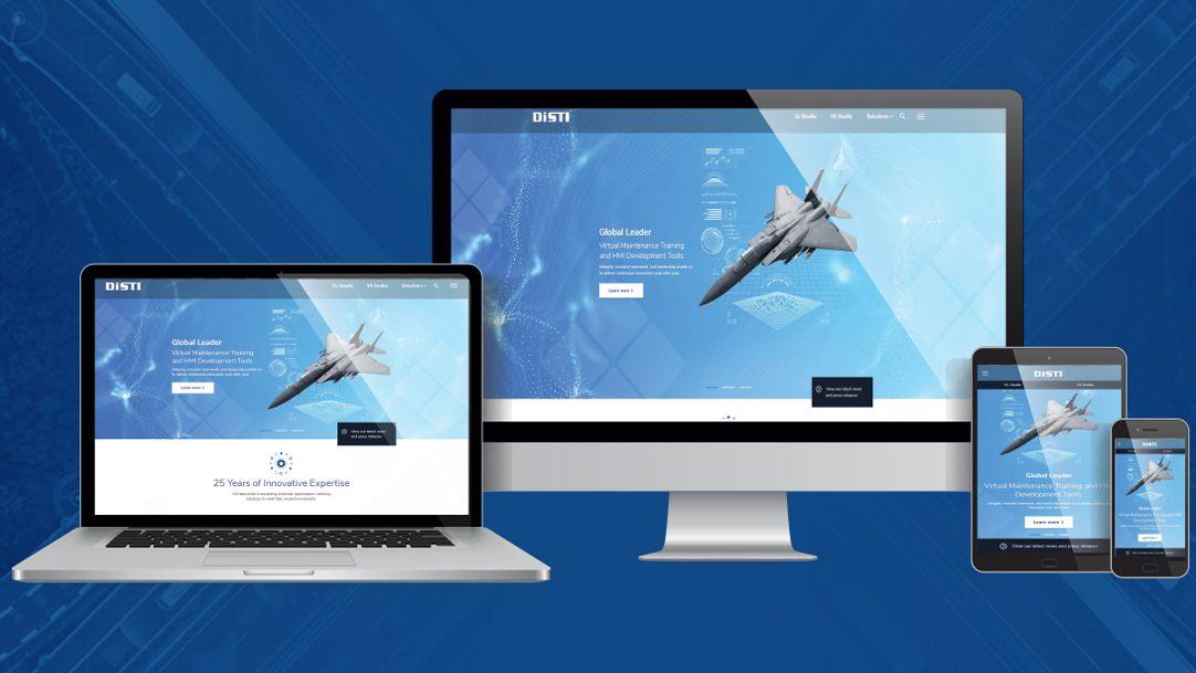Disti Website Redesign