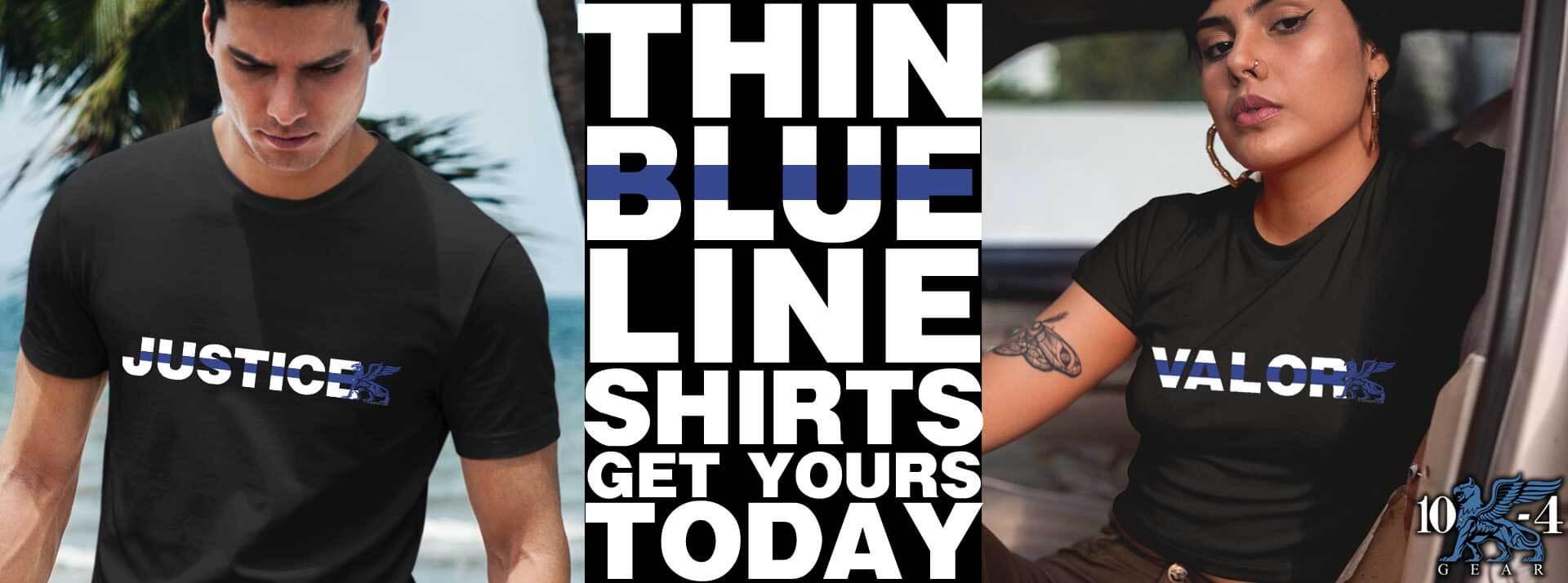 Thin Blue Line Shirts