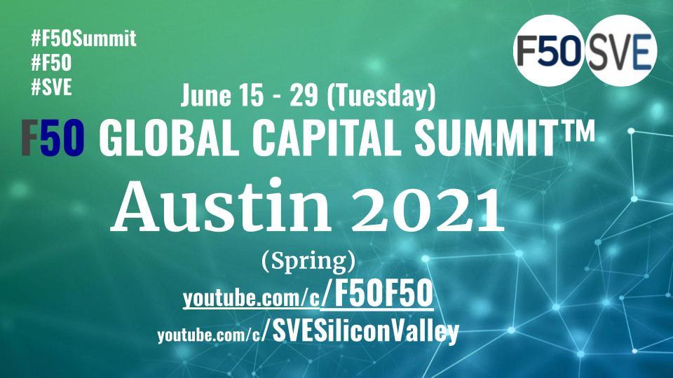 Austin 2021 F50 Summit Poster May 25