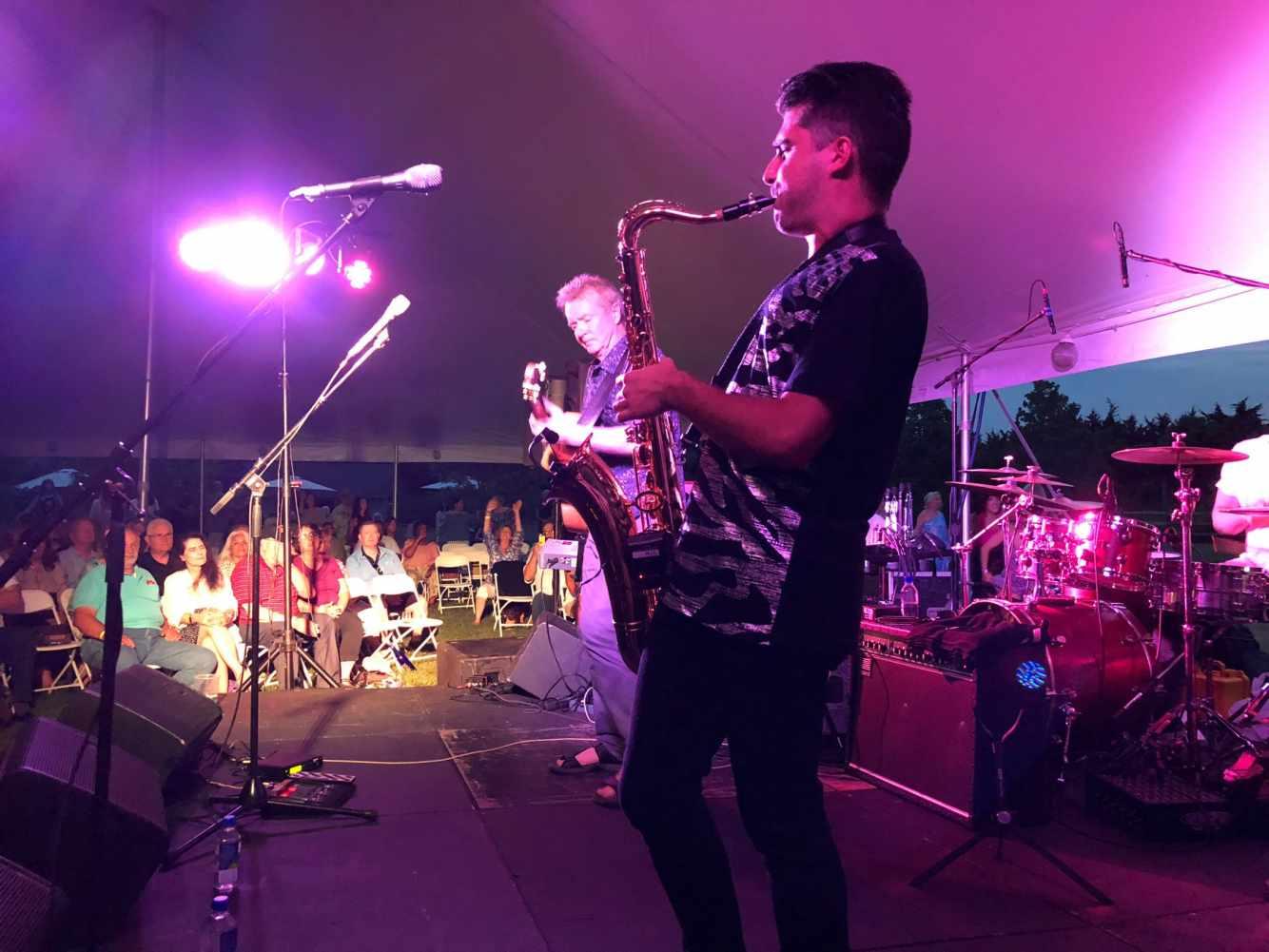 Jazz in the Vines returns to Jamesport Vineyards.