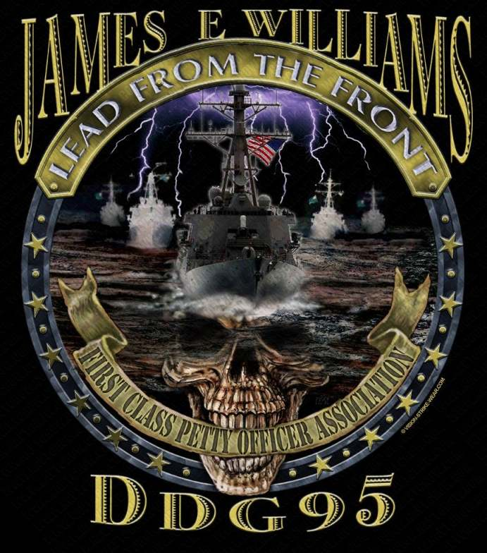 Custom US Navy FCPOA Shirts