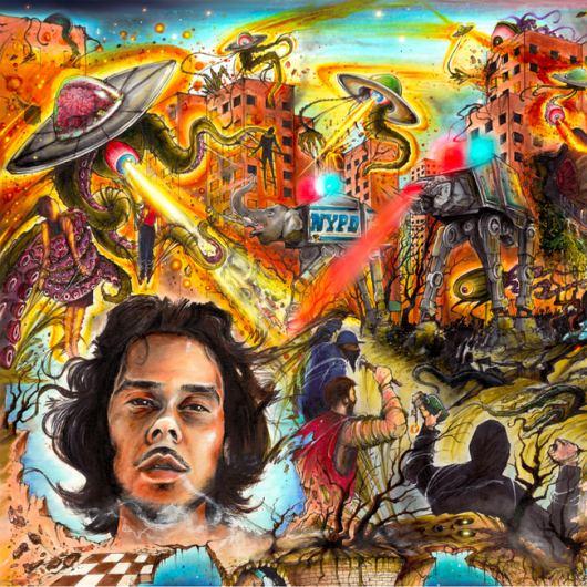 UFO Fev & Vanderslice - Enigma of Dalí