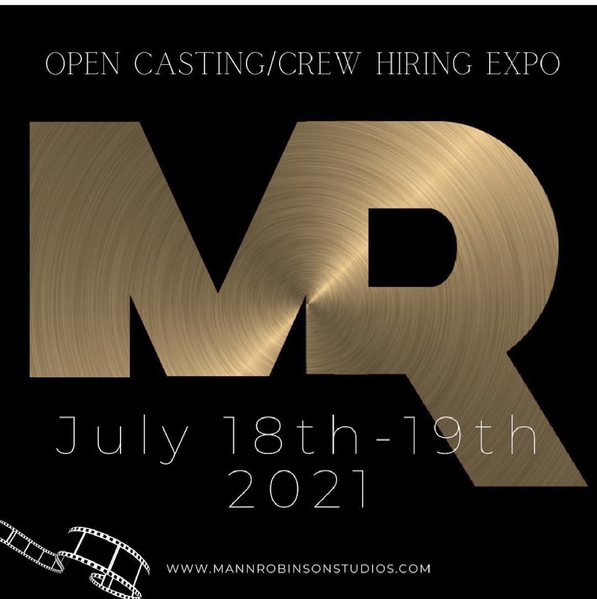 Mann Robinson Studios Casting Call and Crew Expo