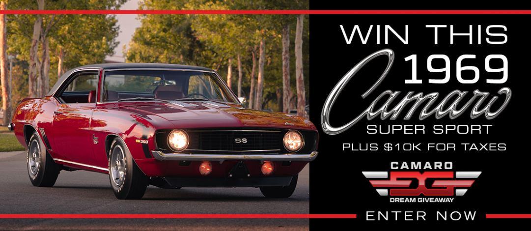 Win a 1969 Camaro SS in the Camaro Dream Giveaway!