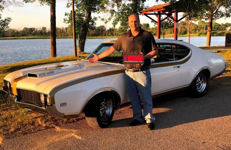 Hurst Olds Dream Giveaway Winner Todd Miller.