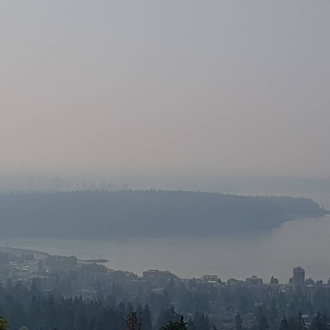 From W. Vancouver City of Van Smoke covered Stock