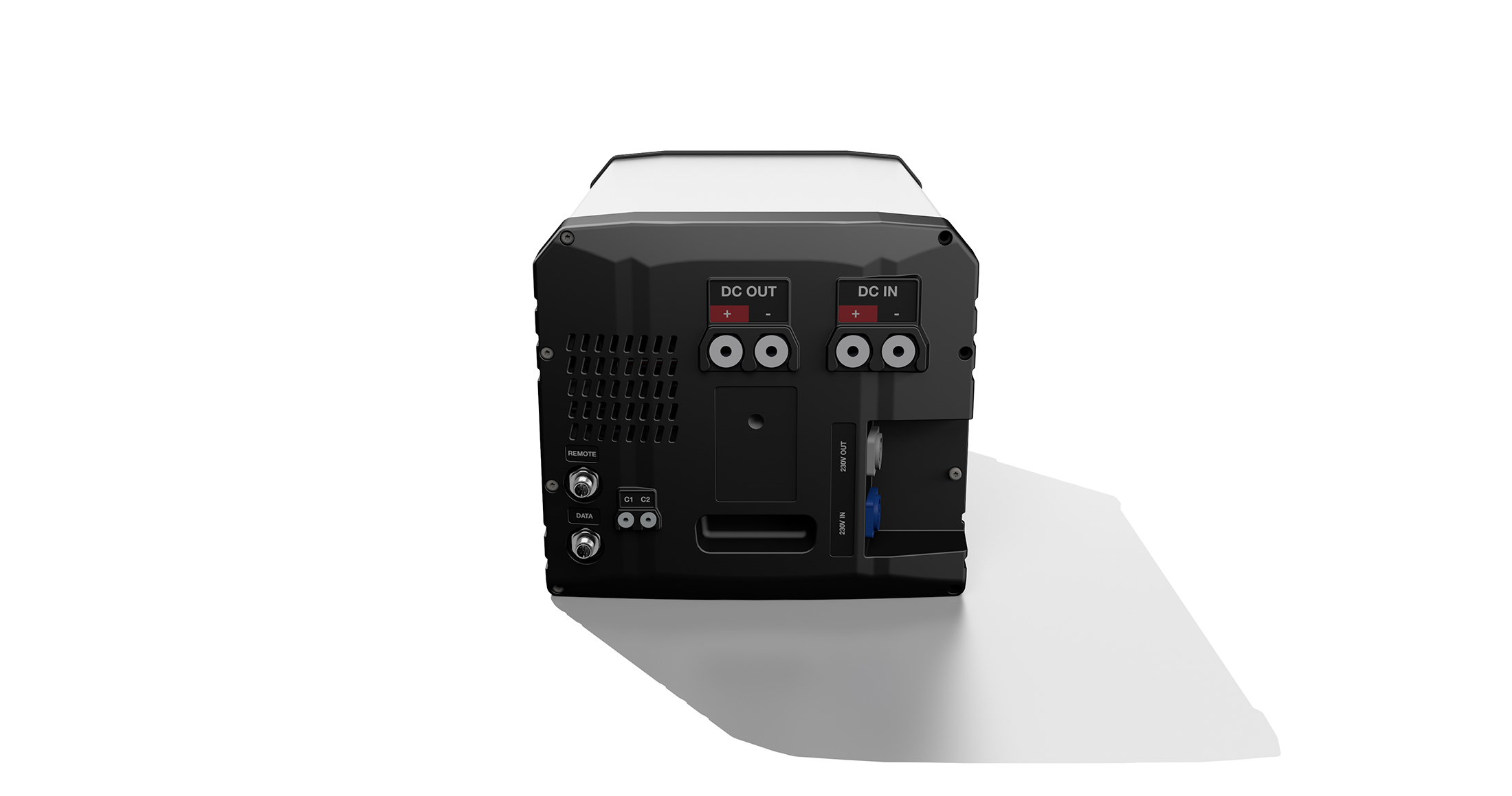 230V and 12V power system with lithium battery