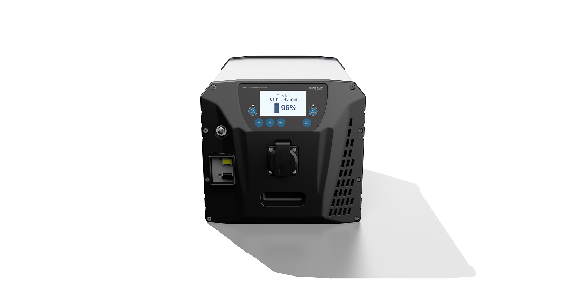 Battery generator with 2 kWh lithium ion battery