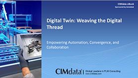 New eBook from CIMdata on digital twins