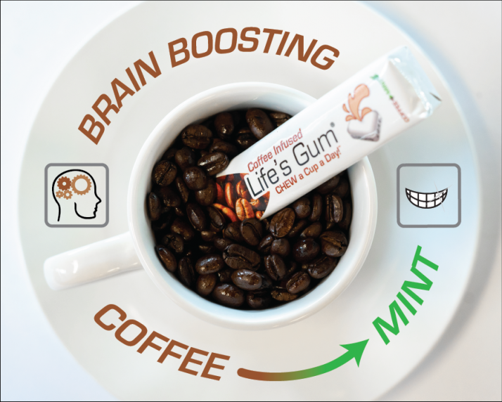 Life's Gum® Coffee™ Transitions to Fresh Mint