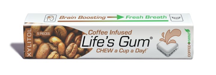 Single Pack of Life's Gum® Coffee™