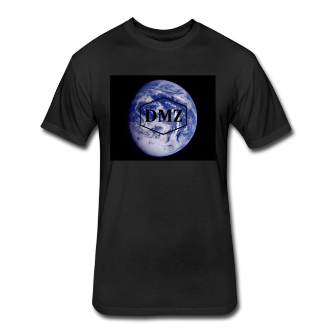 DMZ Fitted Cotton Poly T Shirt Black