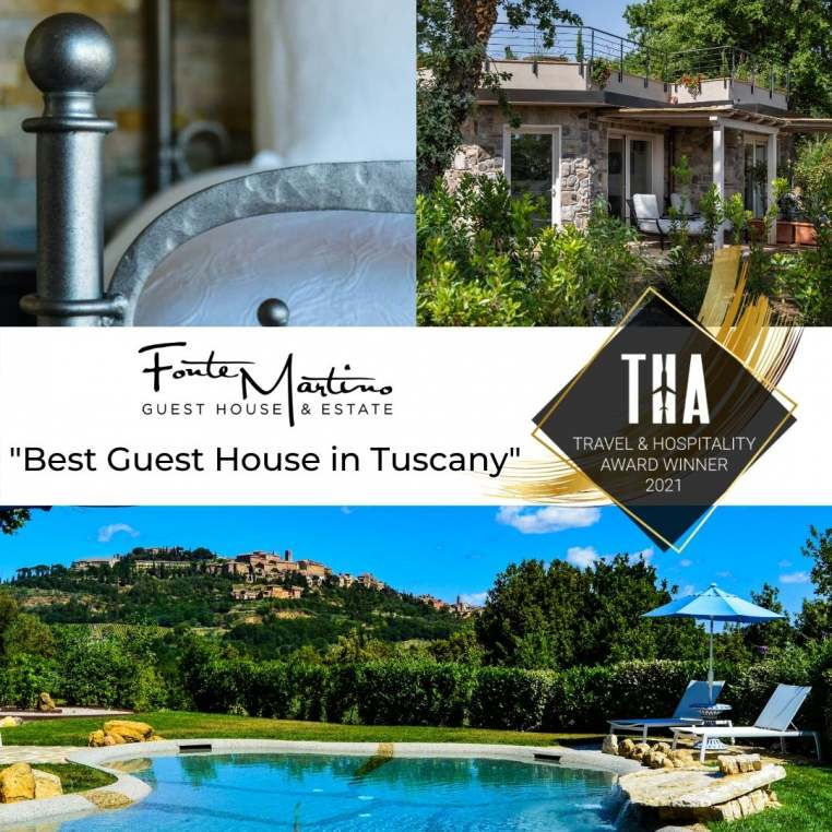 Fonte Martino named Best Guest House in Tuscany