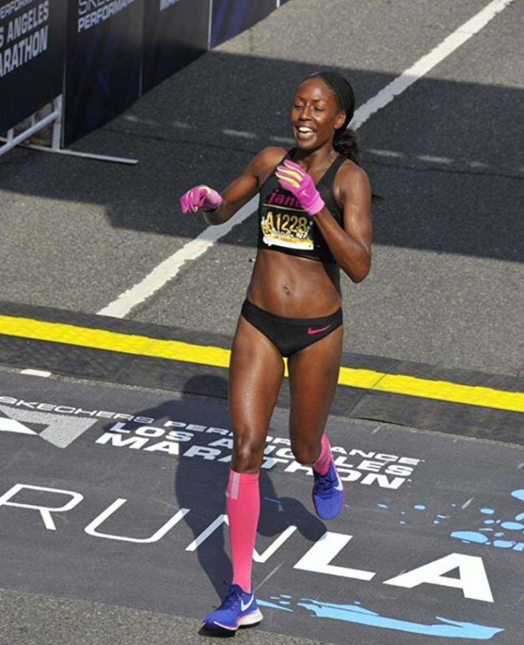 Ingrid Walters LA Marathon Open Female Winner