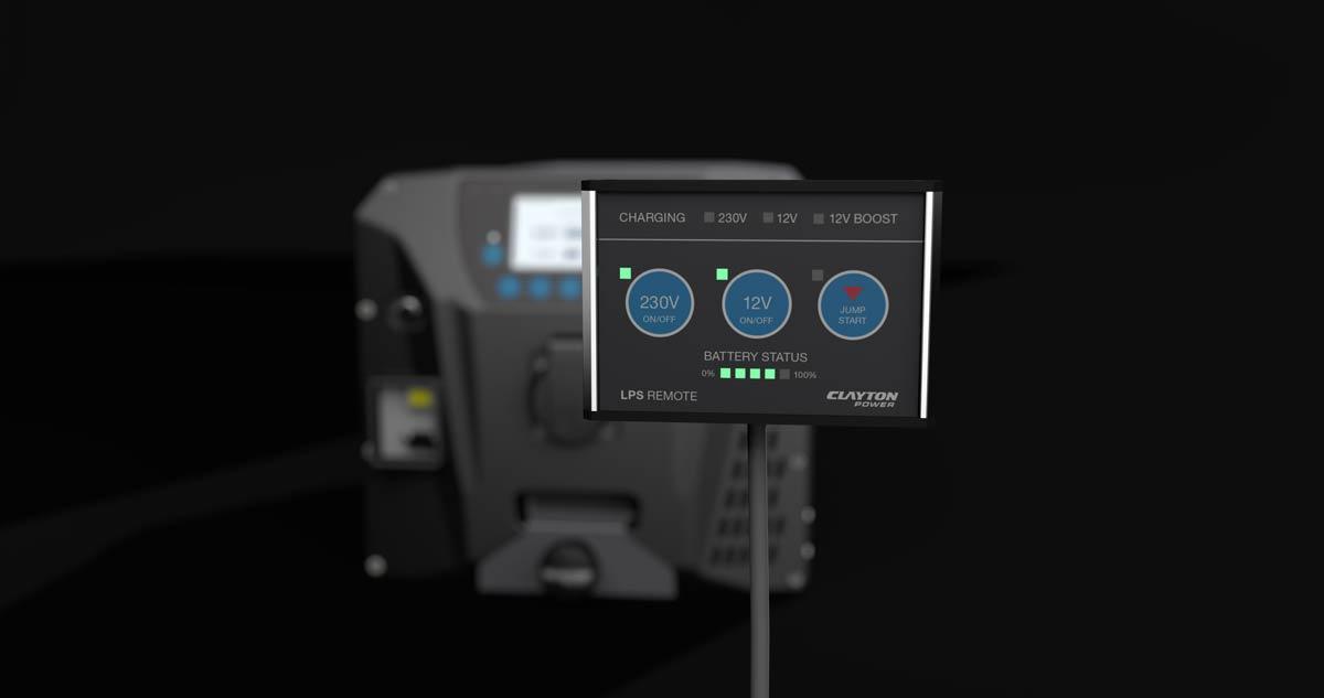 230V Car Inverter System - LPS II 3000