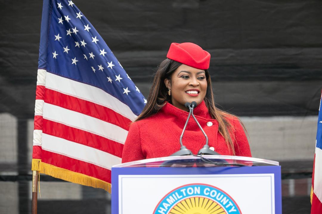 Hamilton County Commissioner, Alicia Reece