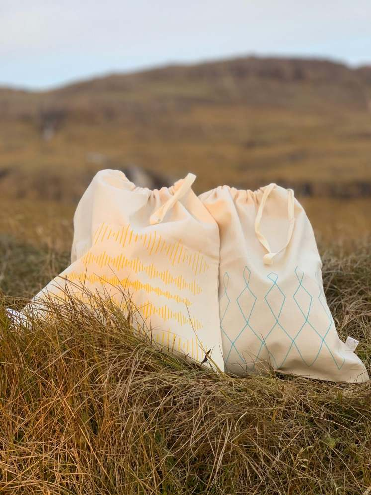 The bags are made from 100% Organic Turkish Cotton